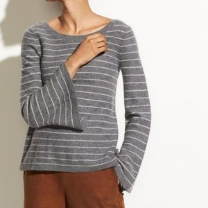 NWT Vince Cashmere Striped Sweater